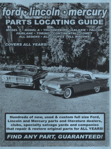 Ford Full Size / Lincoln / Mercury Parts Locating Guide ()