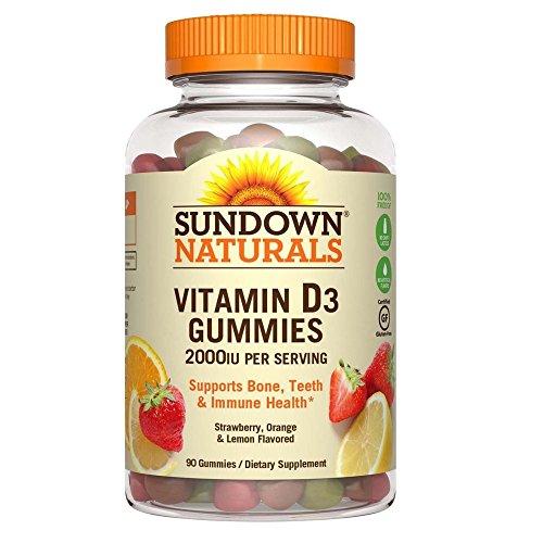 Sundown Naturals Vitamin Strawberry Flavored