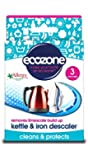Ecozone Kettle and Iron Descaler x 3 (Pack of 4, Total 12 Sachets)