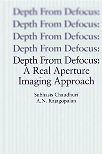Depth From Defocus: A Real Aperture Imaging Approach