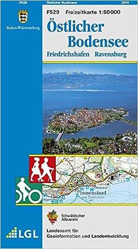 Ostlicher Bodensee Friedrichshafen Ravensburg Karte Des