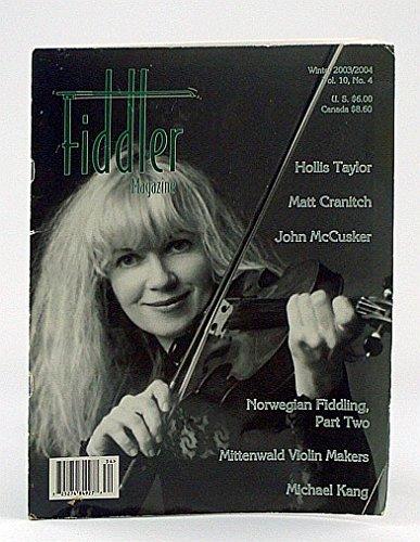 Fiddler Magazine, Winter 2003 / 2004, Vol. 10, No. 4 - Hollis Taylor Cover Photo