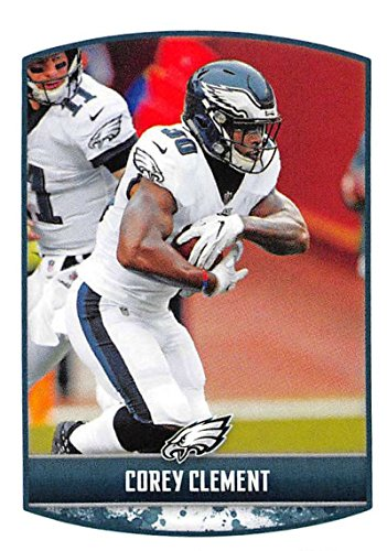 2018 Panini NFL Stickers Collection #260 Corey Clement Philadelphia Eagles Official Football Sticker
