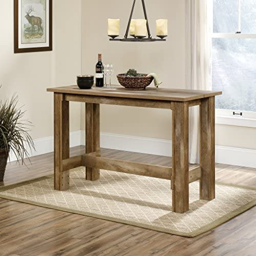 home, kitchen, furniture, kitchen, dining room furniture,  tables 7 on sale Sauder Boone Mountain Counter Height Dining Table, Craftsman deals