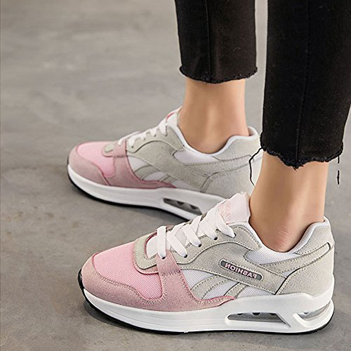 Sport Shoes Running Outdoor Women For Grey Sneakers Shoes Comfortable Women Breathable Mesh Z4UR4wq
