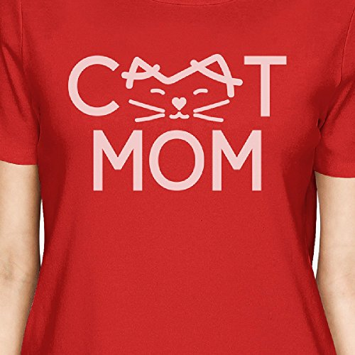 manga Camiseta Printing Gato Talla corta de 365 para nica Mam mujer BqHtwAxx6