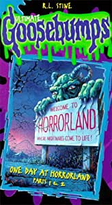 Goosebumps - One Day at Horrorland Part 1 & 2 [VHS]