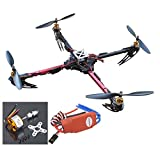 Hobbypower X525 4-axis QuadCopter GF Folding Kit with CC3D Flight Controller & 1000KV Motor SimonK 30A ESC