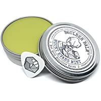 Boulder Balm: Dry Skin Salve for Active Hands & Body Hemp Oil Herb Infused Healing Balm Handcrafted by Rock Climbers (Mount Evans Mint Scent) 2oz Tin