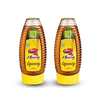World's No.1 Honey Brand Dabur Honey Squeezy pack