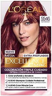 Tinte para cabello Excellence L'Oréal Paris 5546 Castaño Rojizo Prof