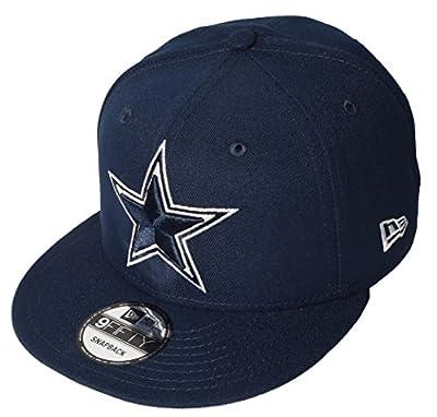 New Era Dallas Cowboys Basic 950 Snapback, Navy, One Size
