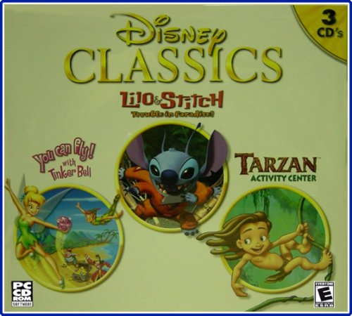 You Can Fly with Tinker Bell, Lilo and Stitch Trouble in Paradise, and Tarzan Activity Center