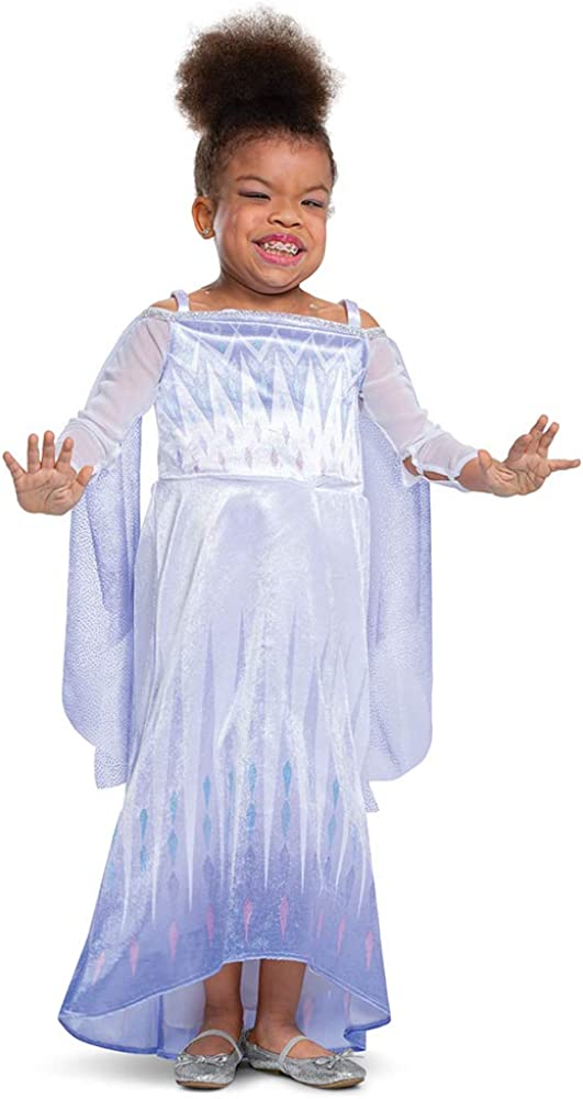 Elsa Adaptive Costume for Kids 3T-4T Size Extra Small
