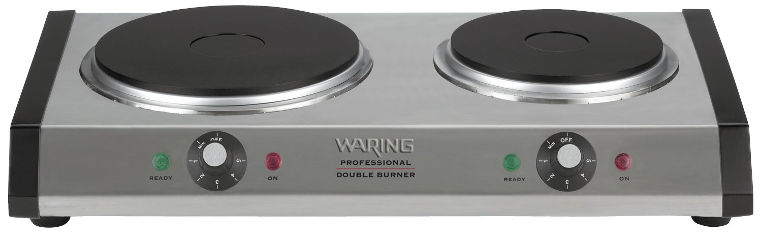 Merveilleux Amazon.com: Waring DB60 Portable Double Burner: Electric Countertop Burners:  Kitchen U0026 Dining