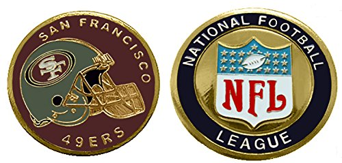 Collectible Challenge Coin- Logo Poker- Lucky Chip for 49ers