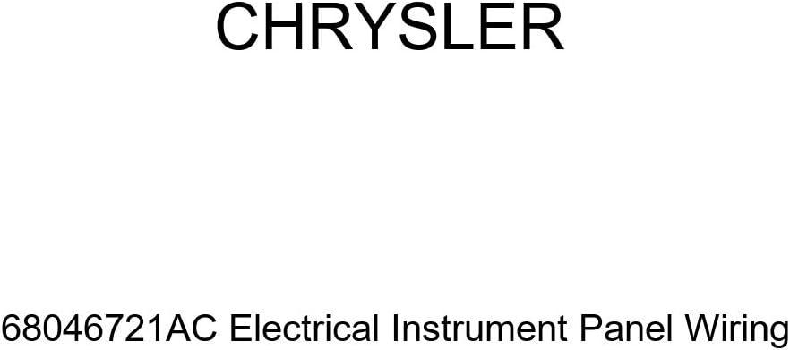 Genuine Chrysler 68046721AC Electrical Instrument Panel Wiring