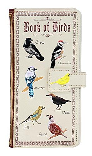 Shagwear Birds Large Zipper Wallet