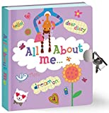 "Peaceable Kingdom All About Me Diary 6.25"" Lock and Key, Lined Page Diary for Kids"