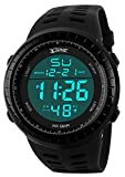 Best Digital Watches - Men's Digital Sport Watch,Big Face Waterproof Electronic LED Review