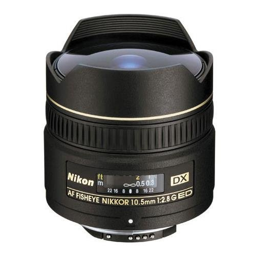 Used, Nikon AF DX NIKKOR 10.5mm f/2.8G ED Fixed Zoom Fisheye for sale  Delivered anywhere in USA