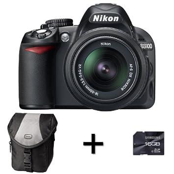 nikon d3100 digital slr camera case 16gb memory amazon co uk rh amazon co uk nikon d3100 manual user guide nikon d3100 manual in japanese language