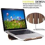 Wood Laptop Stand, VIMVIP® Wooden Laptop Stand