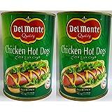 Del Monte Chicken Hot Dogs, 415 gm