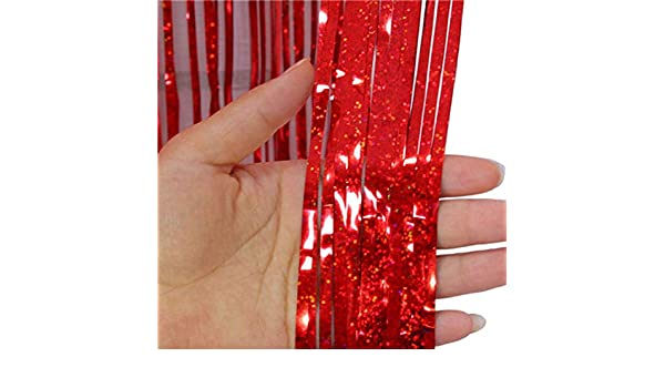 KAEHA SUN-020-00 Brillo laser Cortina de lluvia Rojo
