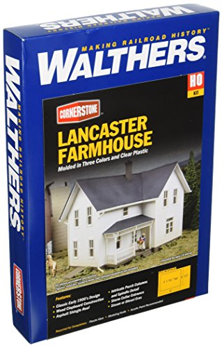 Walthers Cornerstone  Rural USA - Lancas - Scale Farmhouse Kit Shopping Results