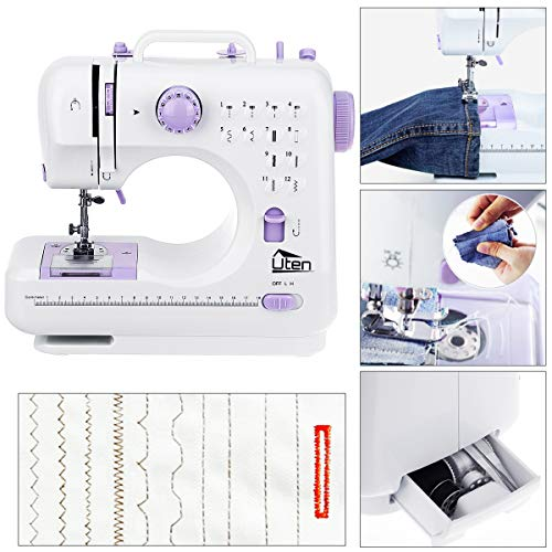 CHEAP AGM Portable Sewing Machine Uten 40 Stitches 40 Speed Heavy Impressive Quick Sewing Machine