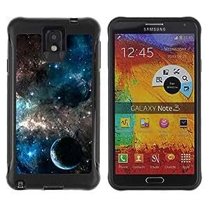 Suave TPU GEL Carcasa Funda Silicona Blando Estuche Caso de protección (para) Samsung Note 3 / CECELL Phone case / / Planets In The Galaxy /