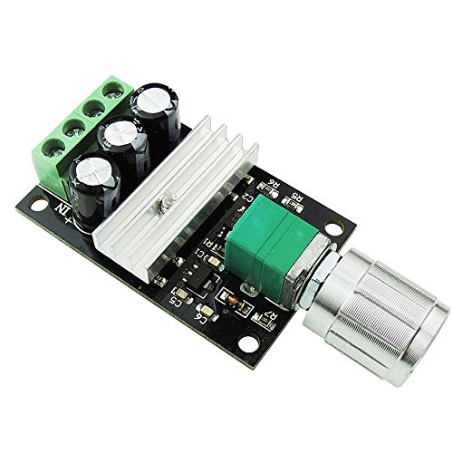Solu DC Motor Speed Controller 6V 12V 24V 3A PWM Variable Speed Regulator Switch// PWM DC 6V/12V/24V/28V 3A Motor Speed Control Switch - Speed Usps Delivery