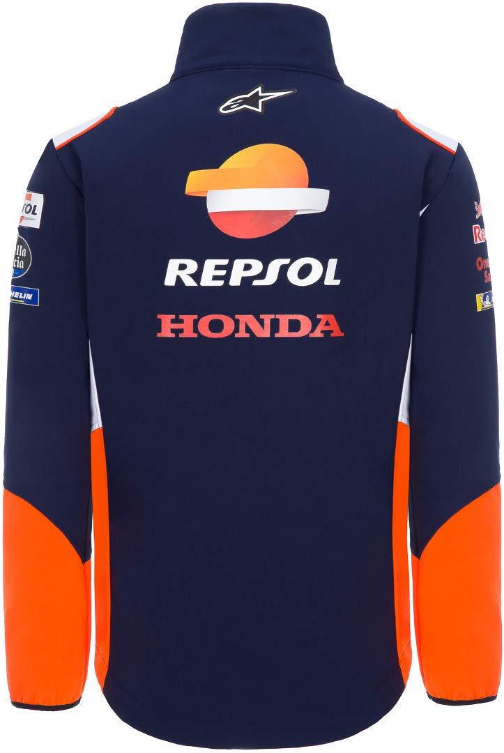 repsol Veste Softshell Honda R/éplique Officielle de l/équipe