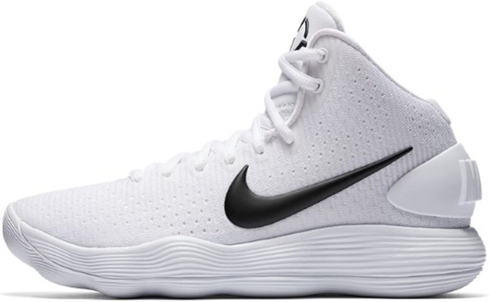 símbolo reposo estafa  Amazon.com | NIKE Women's Hyperdunk 2017 TB Basketball Shoe White/Black  Size 12 M US | Basketball
