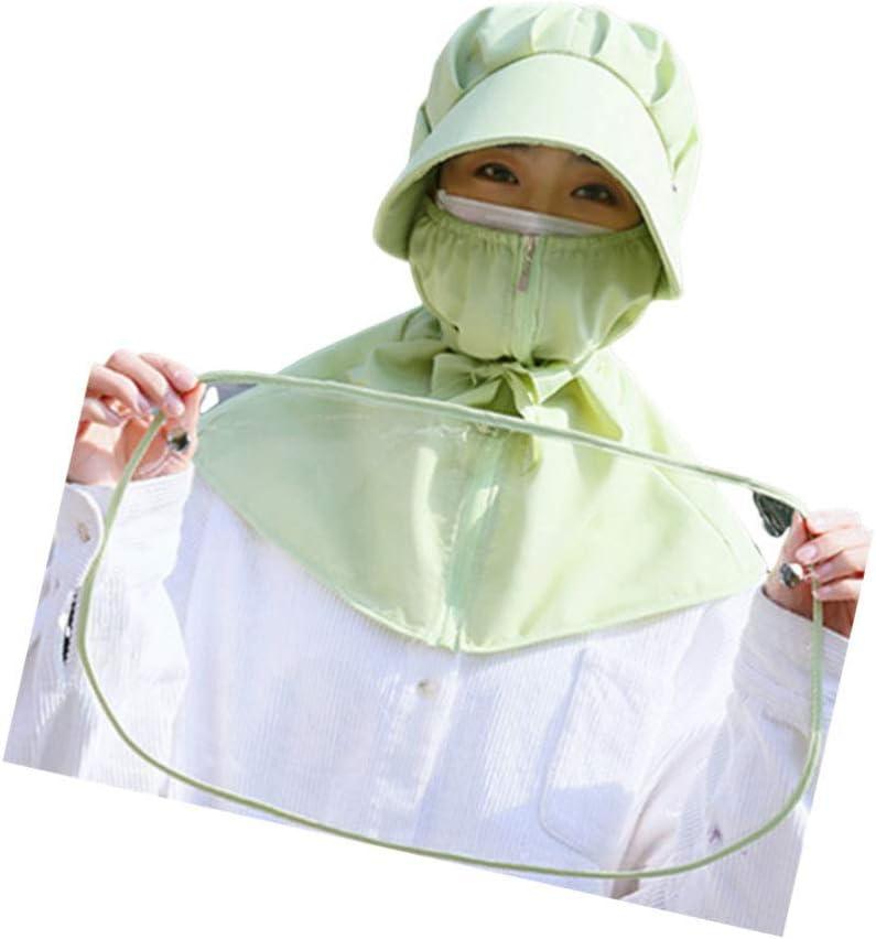 Artibetter Gorra Protectora Protector Facial Protector de Visera Sombrero Anti-Escupir Protector Anti-Gotas Salpicadura Protector Facial Protector de Soldadura Blanco