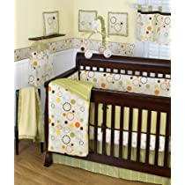 Sumersault 10 Piece Crib Bedding Set Pop Dot