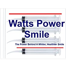 Watts - 4 Large Syringe Oral Irrigators with Tapered Deep Reach Tips for Crowns, Bridges, Oral Pockets and More - 10ml