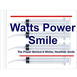 Watts - 4 Large Syringe Oral Irrigators with Tapered Deep Reach Tips for Crowns, Bridges, Oral Pockets and More - 12ml