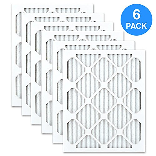 AIRx DUST 16x20x1 MERV 8 Pleated Air Filter - Made in the USA - Box of 6 by AIRx Filters (Image #1)