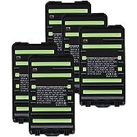 5x Exell 7.2V 1800mAh Ni-MH FRS 2way Radio Battery Fits Icom BP-264, BP264, IC-F3001, IC-F3002, IC-F3003, IC-F3101D, IC-F4001, IC-F4002, IC-F4003, IC-F4101D, IC-T70, IC-T70A, IC-T70E