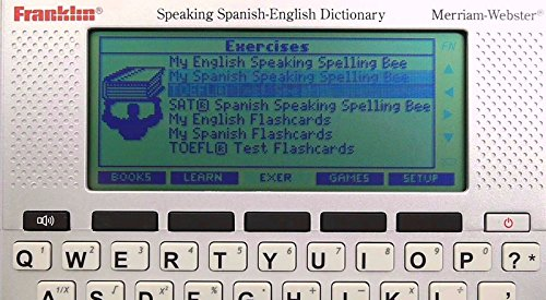 Franklin Speaking Spanish English Translator Talking Spelling Portable  Digital Dictionary (Free Expedited Shipping)