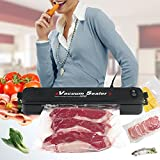 Vacuum Sealer Machine for Food Savers, Automatic Food Vacuum Sealing System for Home Plus 15 Pcs Bags