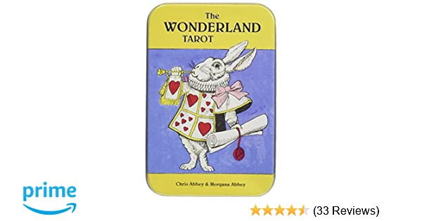 Wonderland Tarot in a Tin: Chris Abbey, Morgana Abbey