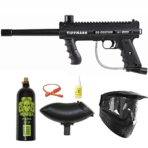 Tippmann 98 Custom PS Ultra Basic Paintball Marker Basic Package by Tippmann