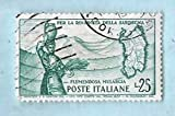 Used Italy Postage Stamp %281958%29 25L