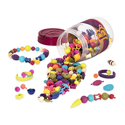 B. Toys - (275-PCS) Pop Snap Bead Jewelry - DIY Jewelry Kit For Kids (Trees For Sale Jewelry)