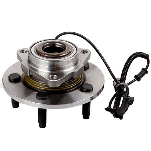 Price comparison product image SCITOO Compatible with 515126 Front Wheel Hub Bearing Assembly fit 2009 2010 Dodge RAM 1500 5 Lugs w / ABS