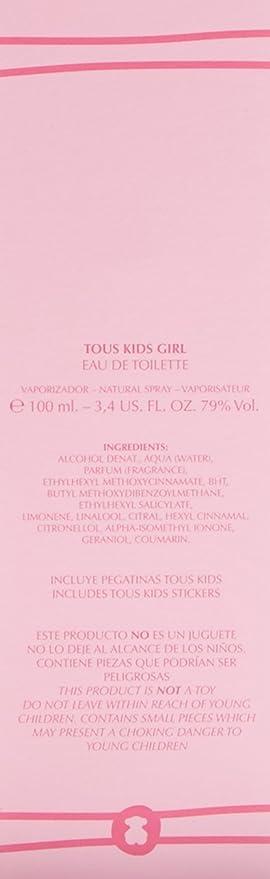 Tous Kids Girl 100ml: Amazon.es: Belleza
