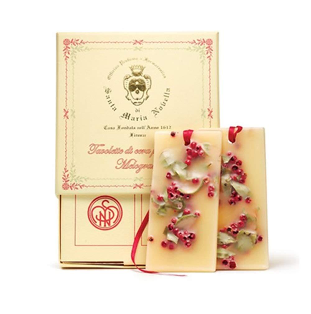 Santa Maria Novella Melograno Wax Tablets - Box of 2